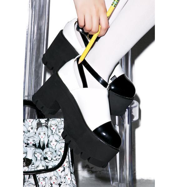 Hot!MeSS Dolly Platform Boots