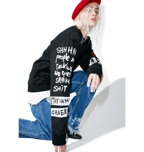 Haculla Shizo Crewneck Sweatshirt