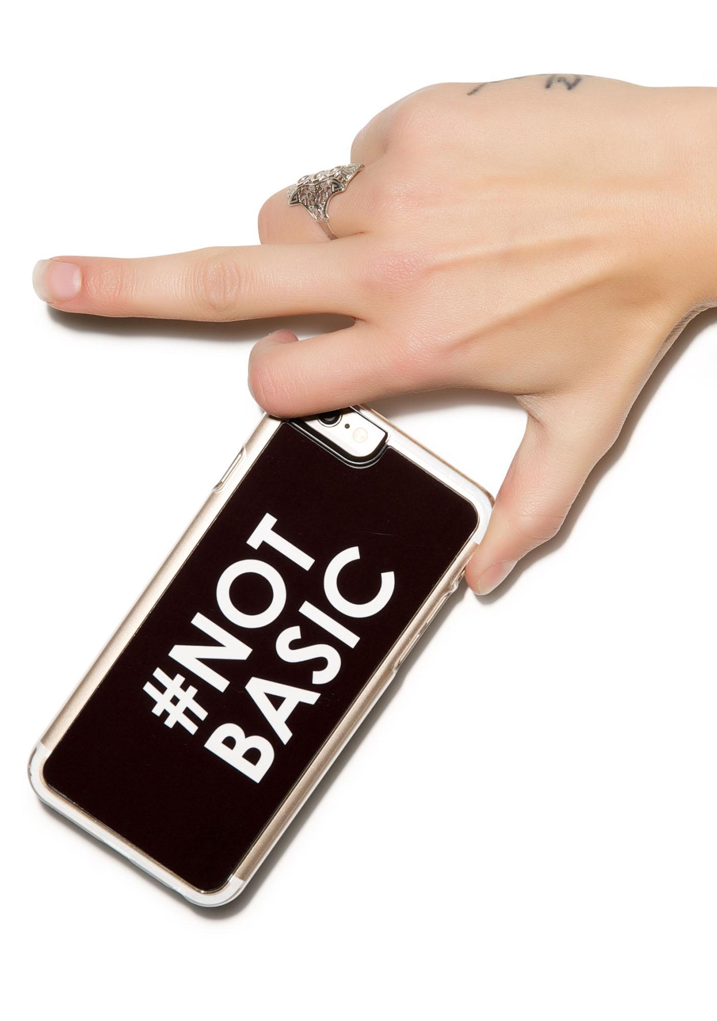 Zero Gravity #Not Basic iPhone 6 Case
