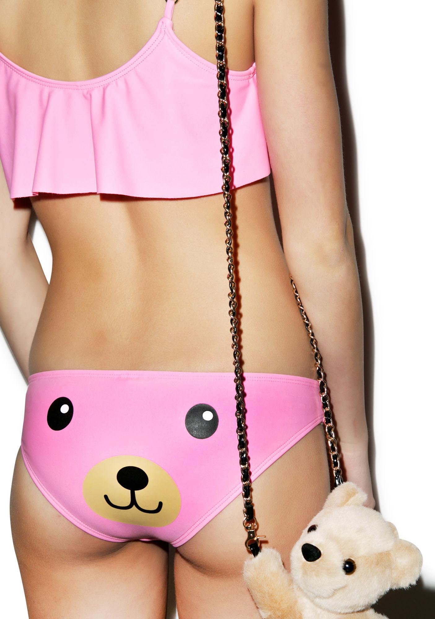 Wildfox Couture Teddy Girl Bikini Bottom