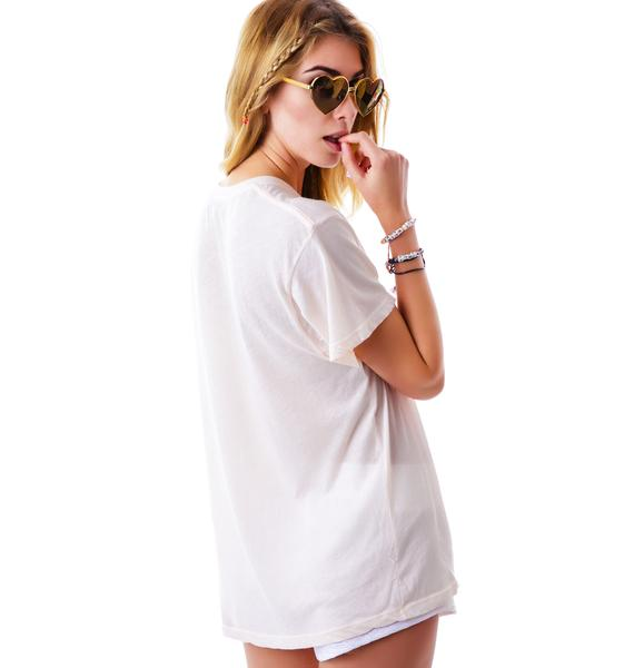 Wildfox Couture Cali Heart Oversized T