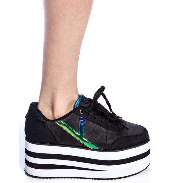 Y.R.U. Krazii Platform Sneakers