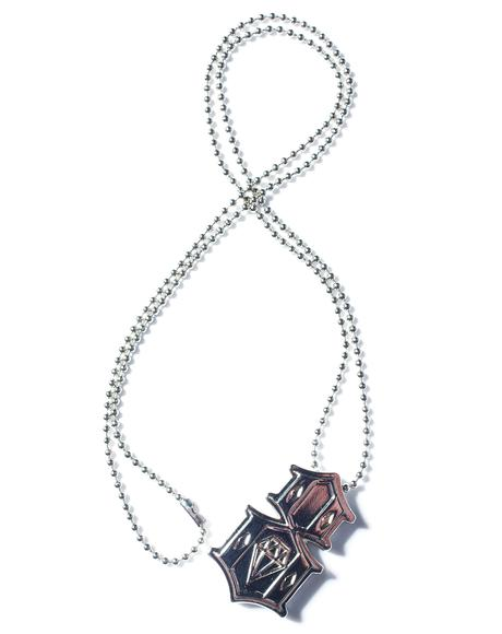 Metal 8 Necklace