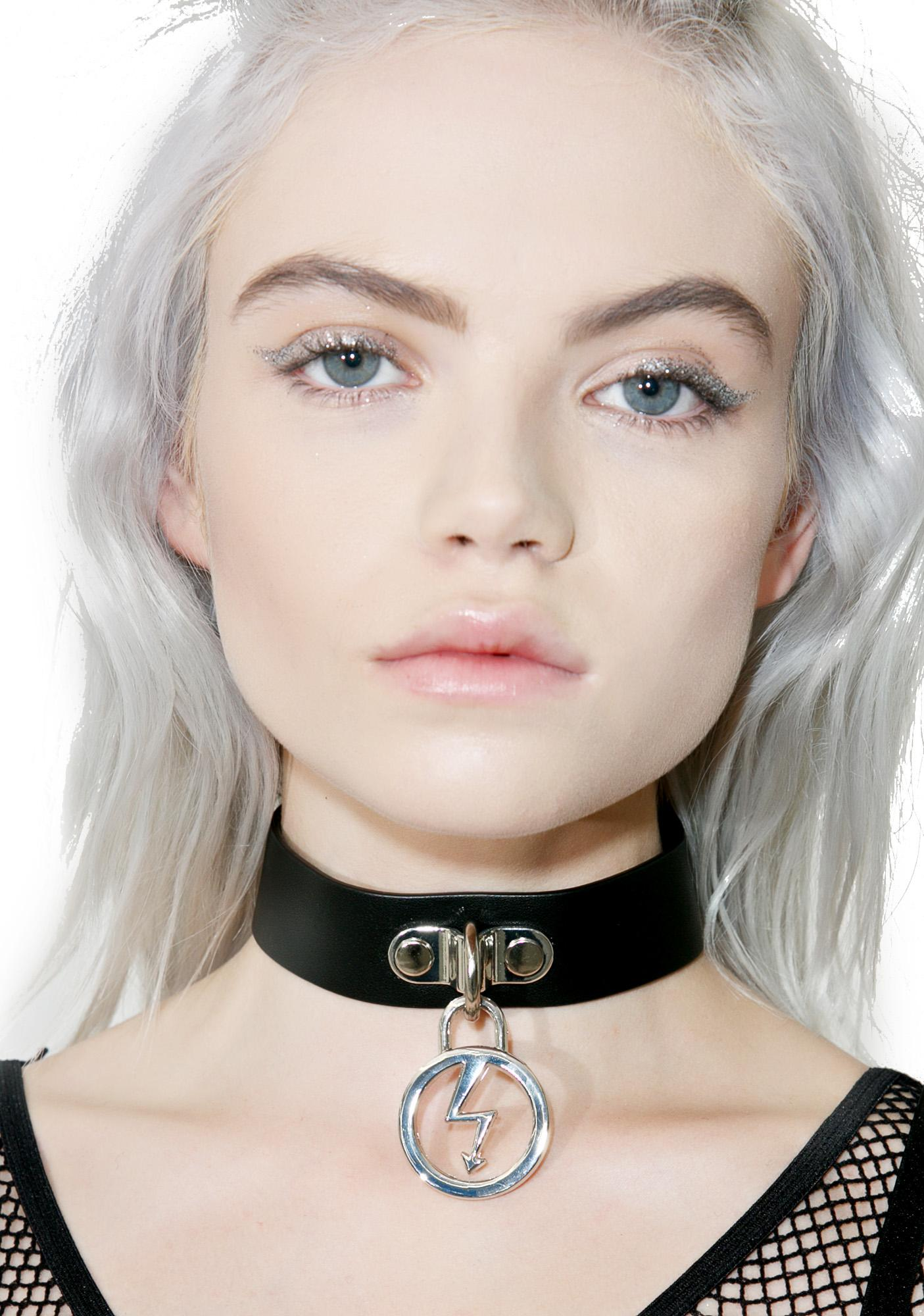 Killstar Repent Vegan Leather Choker