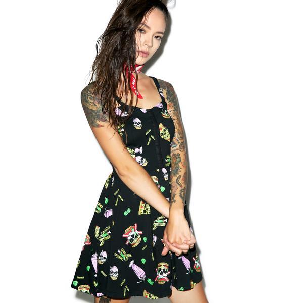 Fukk A Diet Skater Dress