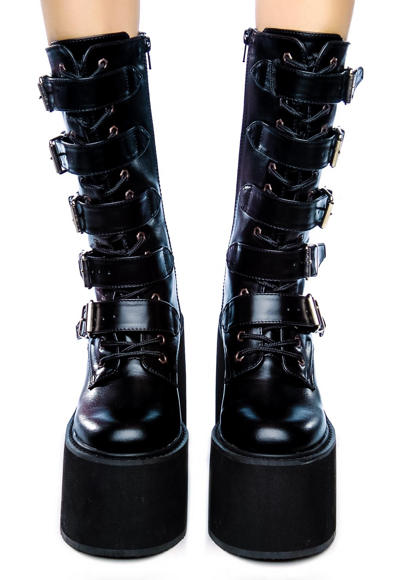 When your looking for sexy boots and some extra height, check out our knee-high platform boots, high heel platform boots, ankle high heel platform boots, fur platform boots and more.