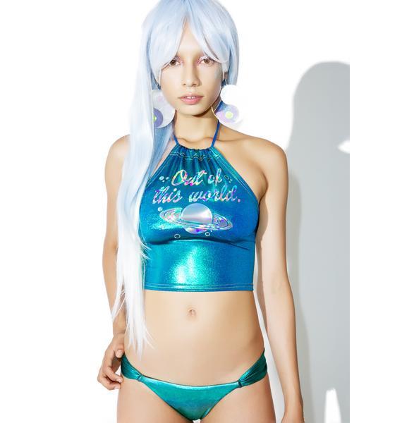 Margarita Mermaid Abalone Bikini Bottoms