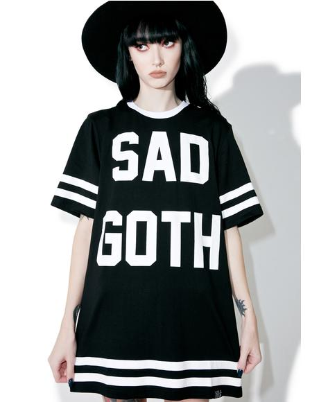 Sad Goth Hockey T-Shirt