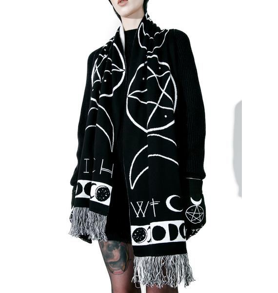 Witch Knit Scarf