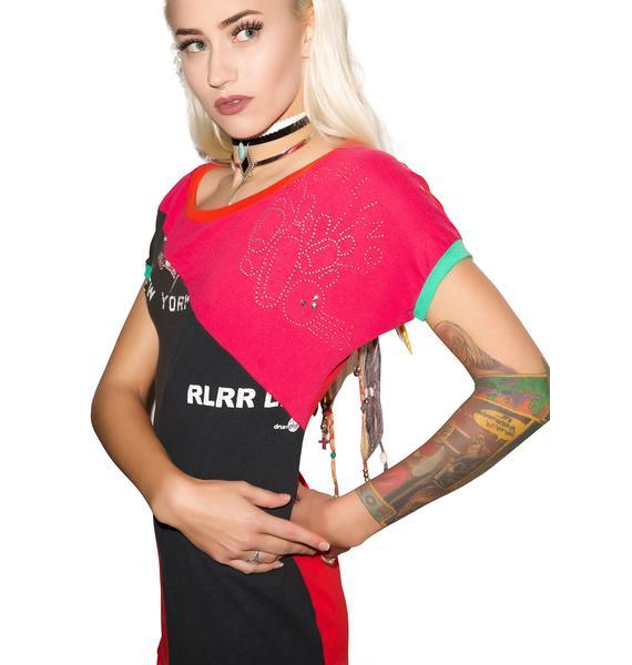 Find Yer Future Patchwork Dress