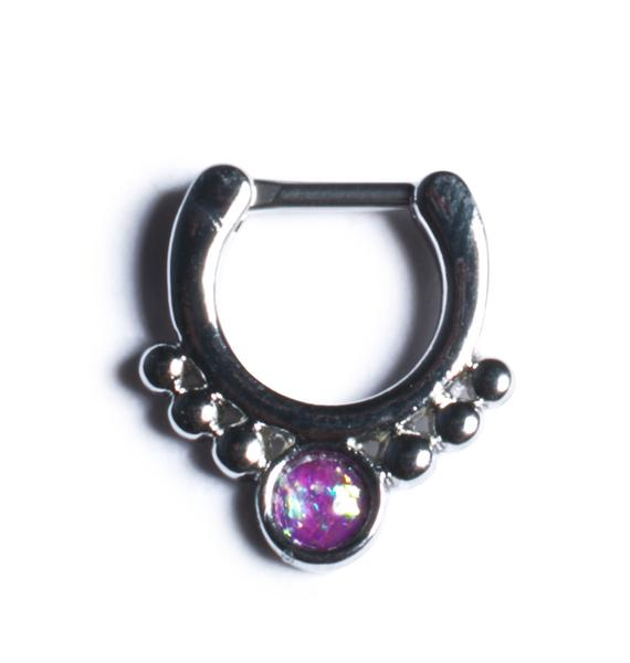 Crown Jewels Septum Ring