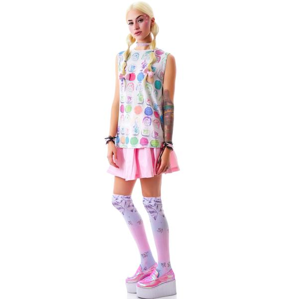Wildfox Couture Rainbow Roll Building Tank