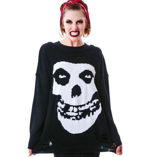 Iron Fist Misfits Torn Sweater
