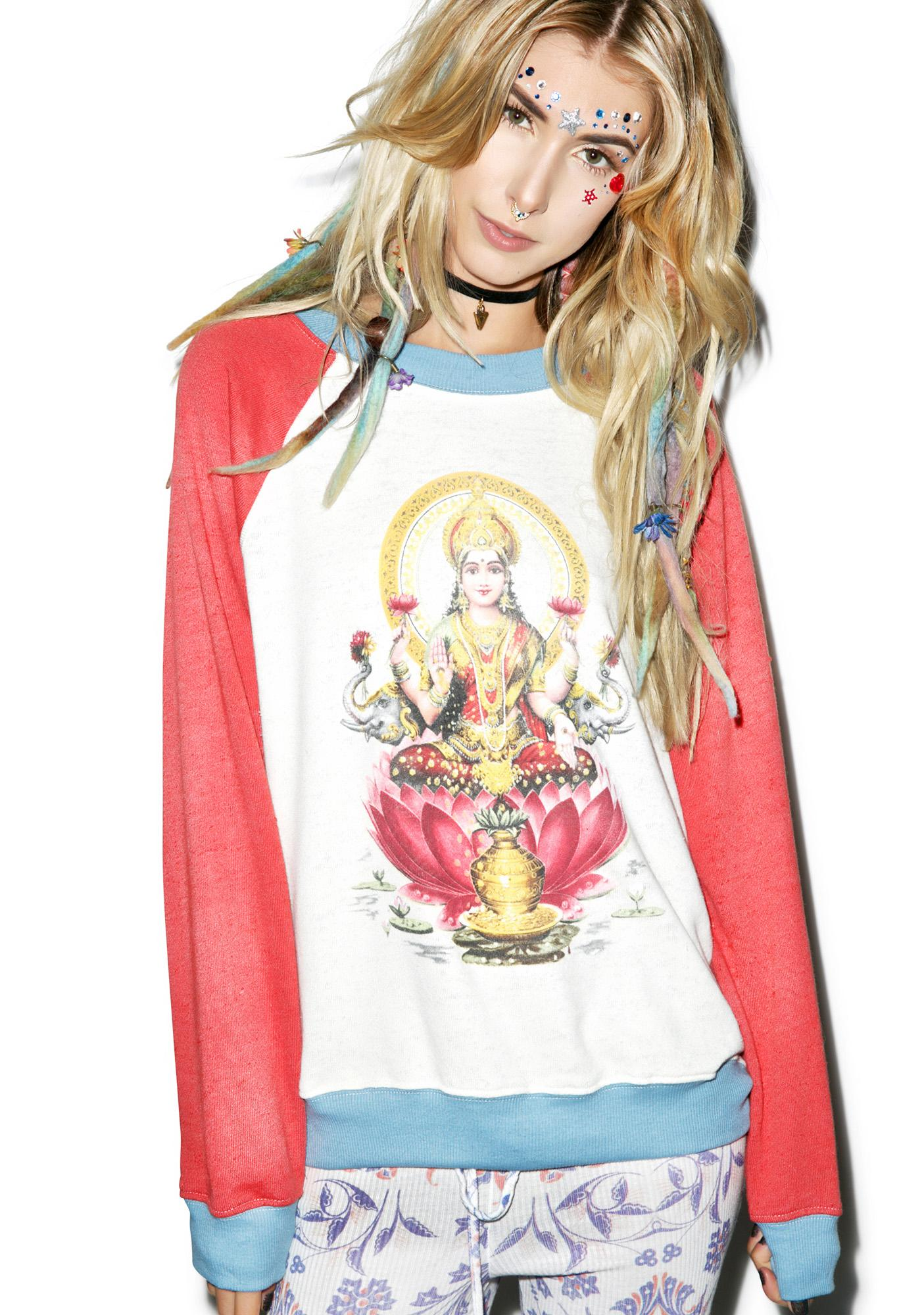 Wildfox Couture Goddess of Wealth Kim's Sweater