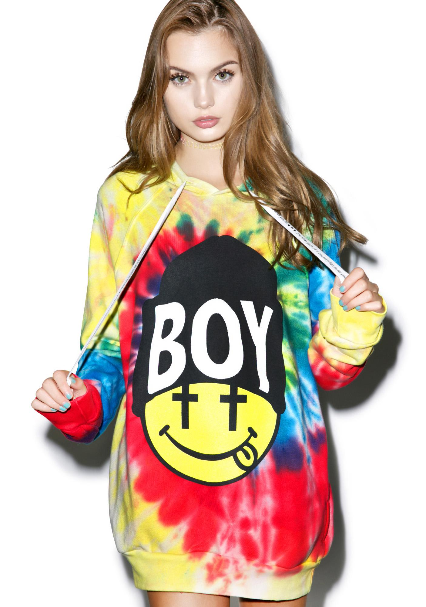 BOY London United Boy Acid Beanie Hoodie