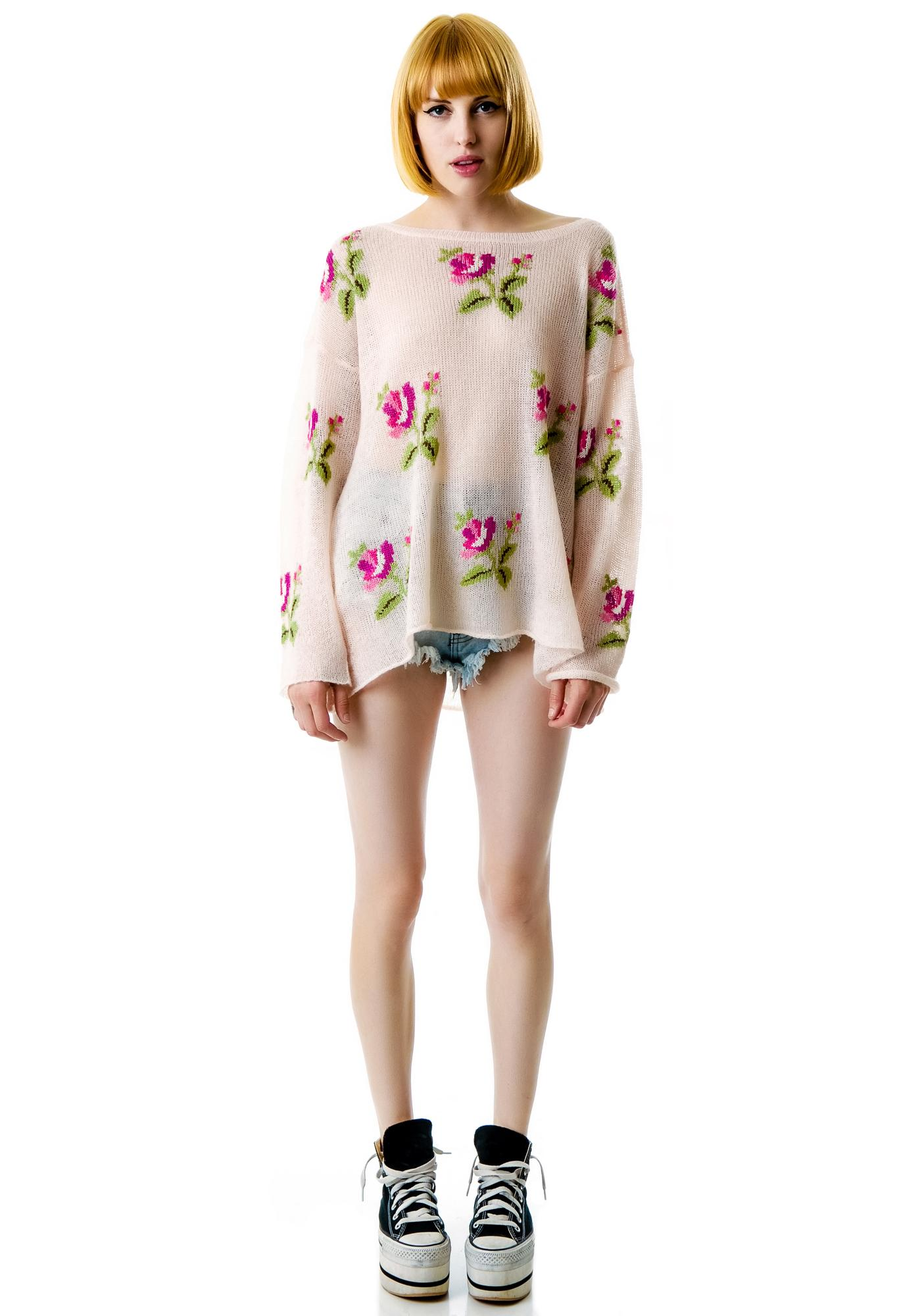 Wildfox Couture Little Edie Ringo Sweater