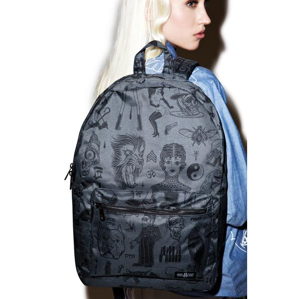 Rebel8 Giant Flash Graphics Backpack
