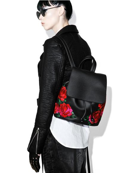 Embroidered Cressida Backpack