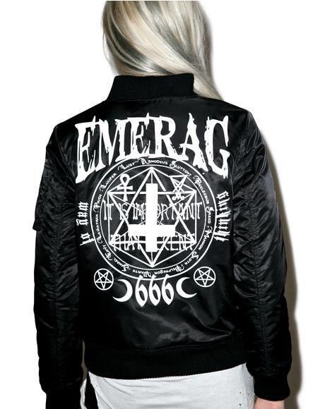 Dark Prayers MA-1 Jacket