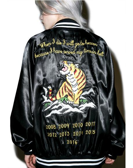 Le Tigre Satin Jacket