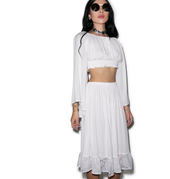 Mina Midi Skirt
