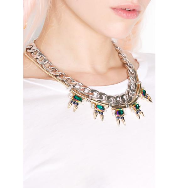 Cygnus Layered Necklace
