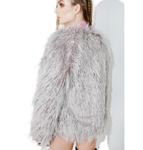 Silver Springs Shag Coat