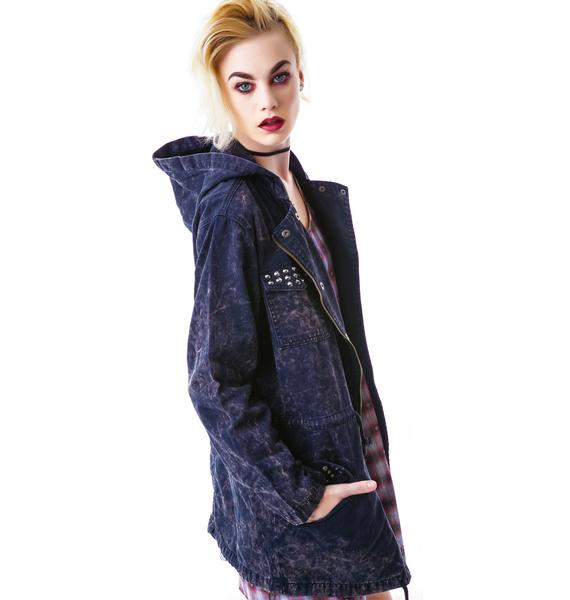 Evil Twin Touch Finish Studded Anorak