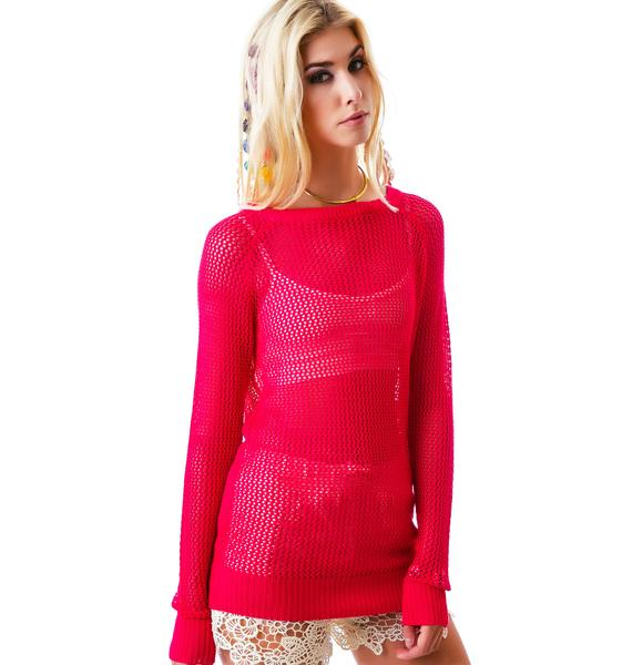 Love me Net Sweater