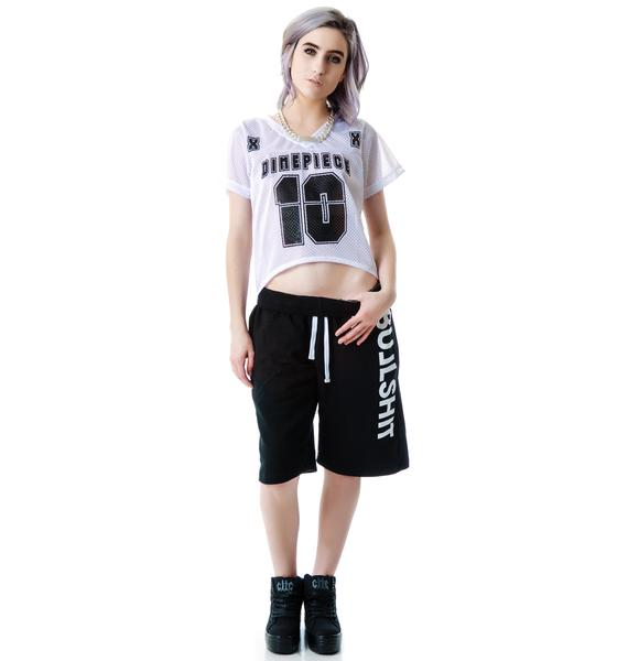 Dimepiece Athletic Jersey Tunic Dress
