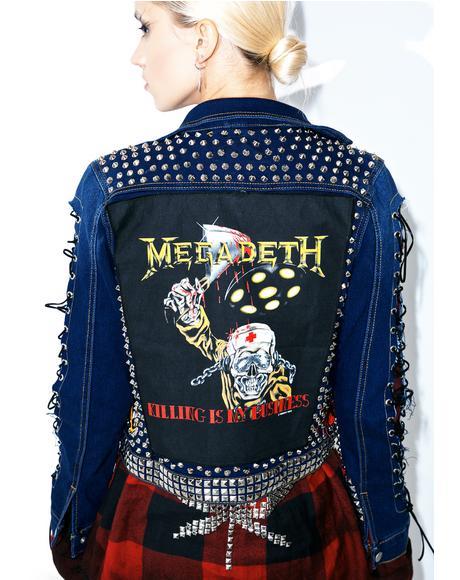 Vintage Deadstock The Damned Jacket