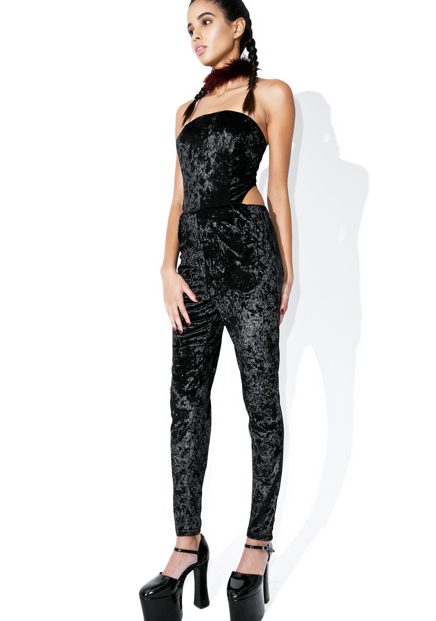 Midnight Velvet Jumpsuit