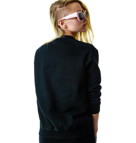 Peace, Love, Cannabis Pullover Sweatshirt