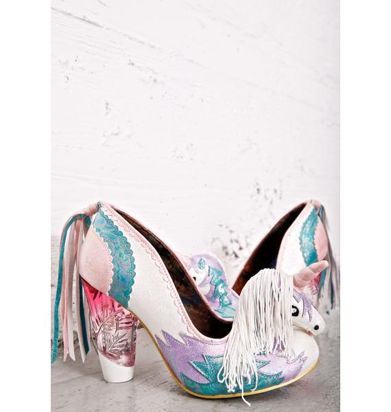 Irregular Choice Dream Kiss Heels