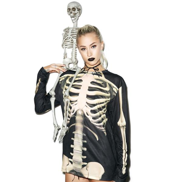 All Bonez Long Sleeve Tee