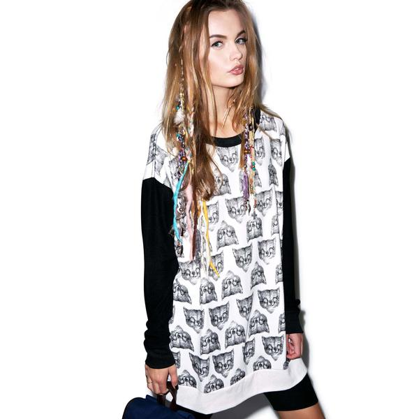 Wildfox Couture Fox Hunt Roadtrip Sweater