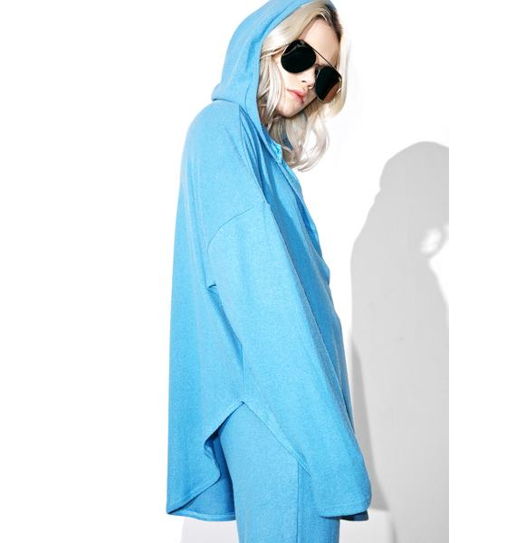 Azure Nouvelle Slouchy Hoodie
