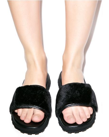 Fur Nile Sandals