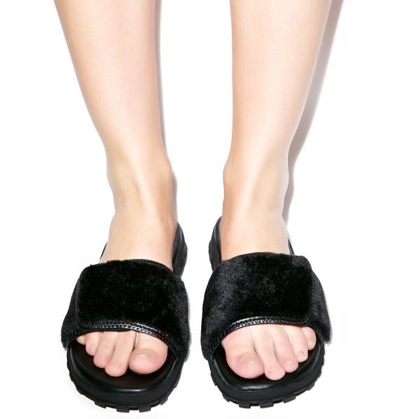 Y.R.U. Fur Nile Sandals