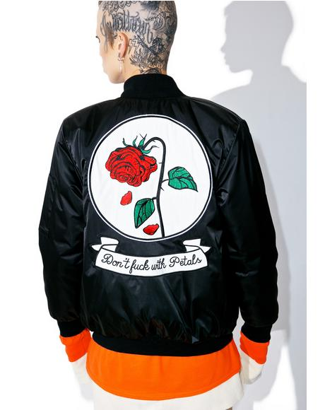Fuck With Petals Reversible Jacket