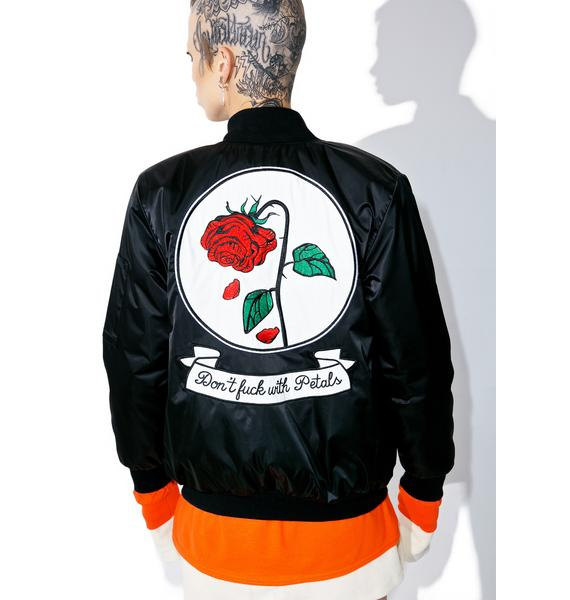 Petals and Peacocks Fuck With Petals Reversible Jacket