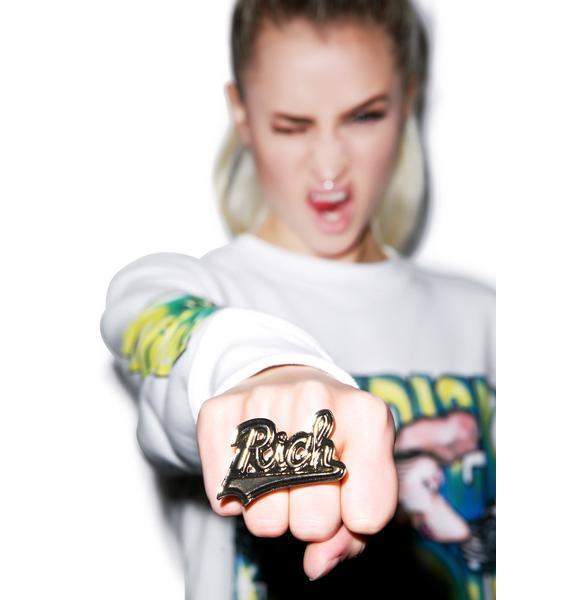 Joyrich Rich Double Finger Ring