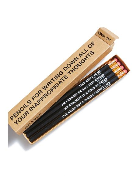 Your Inner Foodie Pencil Set