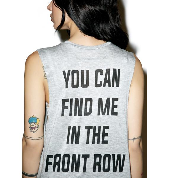 Front Row Muscle Tank