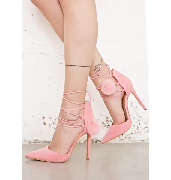 Royalty Lace-Up Heels