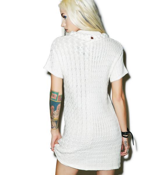 For Love & Lemons Billy Sweater Dress