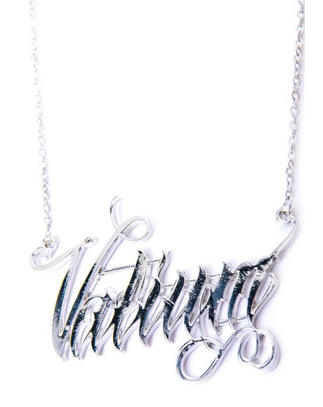Valium Necklace