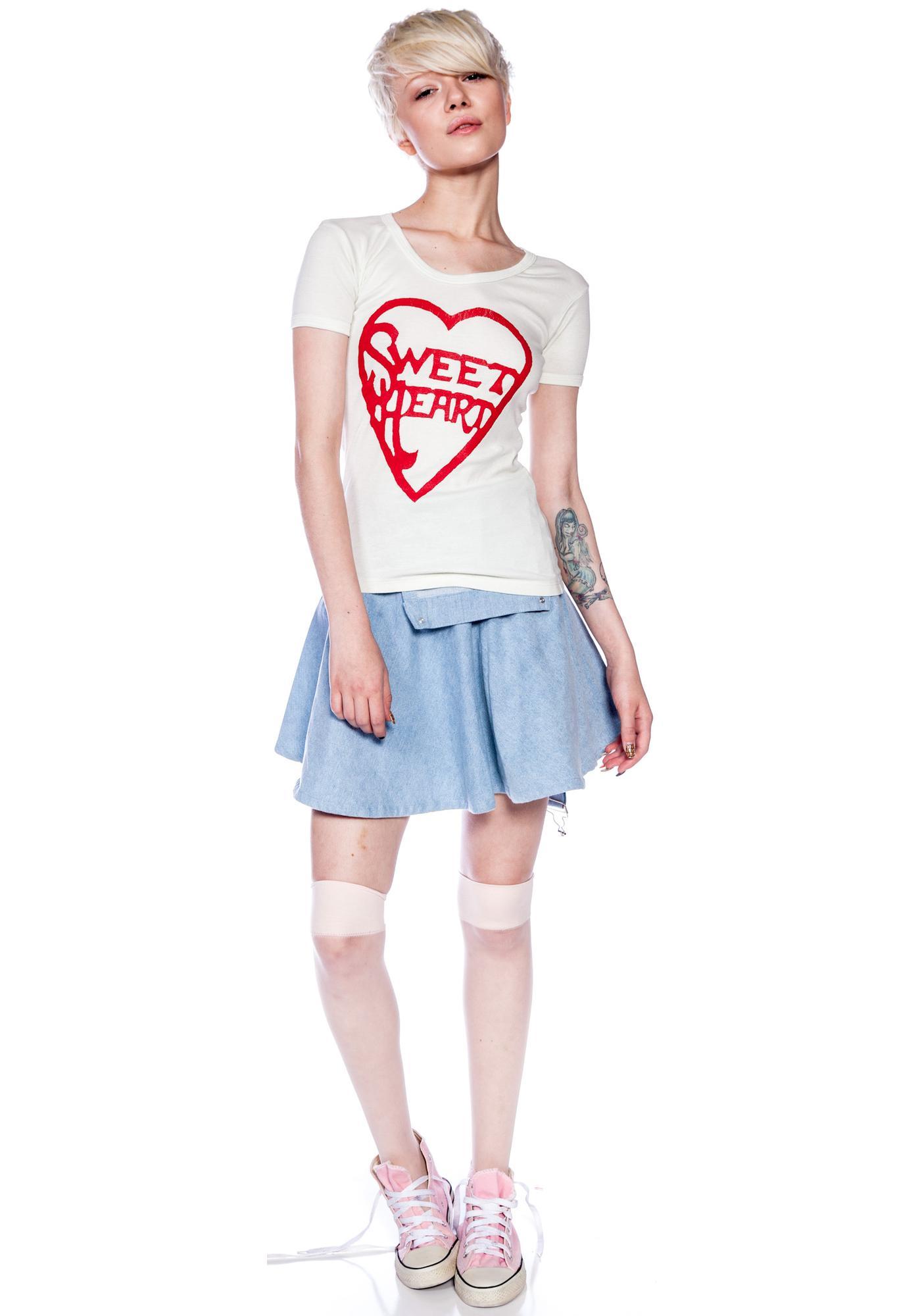 Bandit Brand Sweet Heart 70's Tee