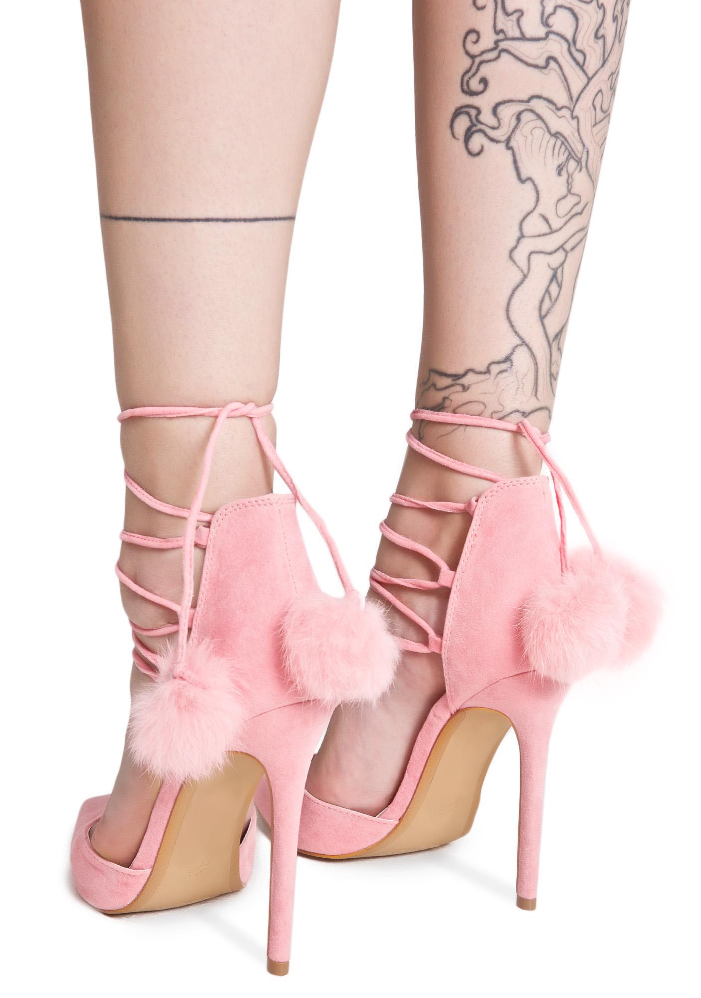 Royalty Lace-Up Heels   Dolls Kill