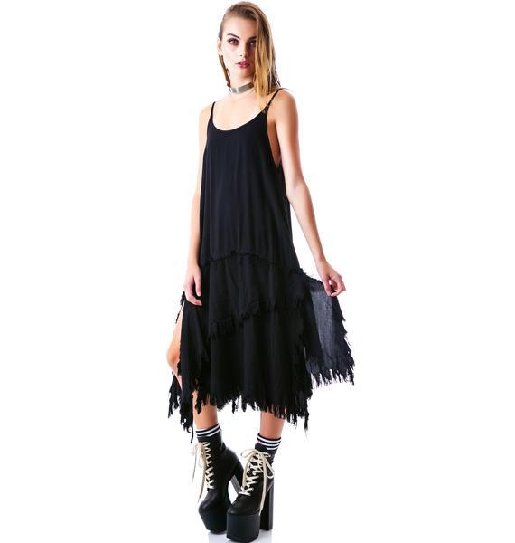 UNIF Midi Stray Dress